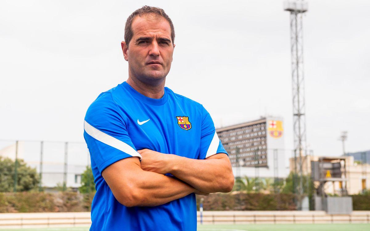 Felip Ortiz, segundo entrenador del Barça