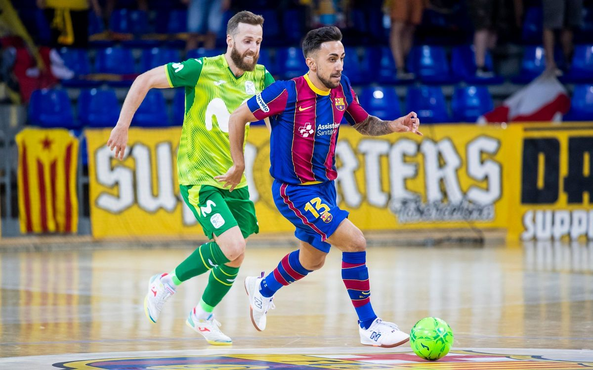Joselito, cedit una temporada al Real Betis Futsal