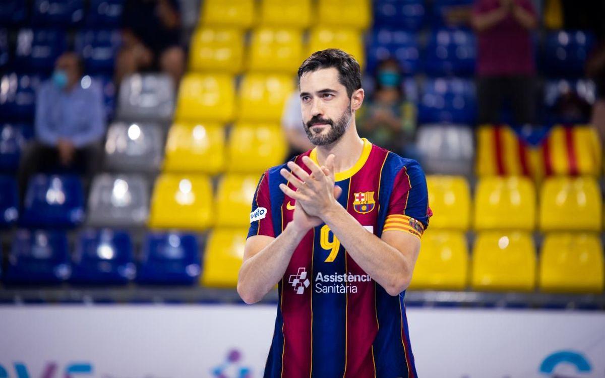 La nova vida de Raúl Entrerríos al Barça