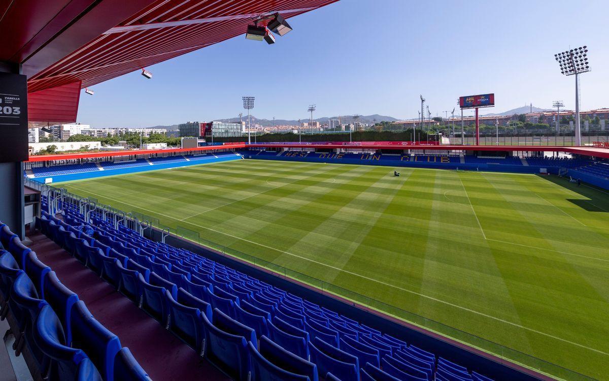 Venda d'entrades per als partits contra el Nàstic i el Girona