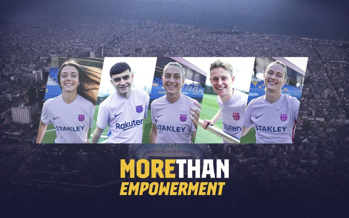 FC Barcelona promotes women's empowerment with its away kit