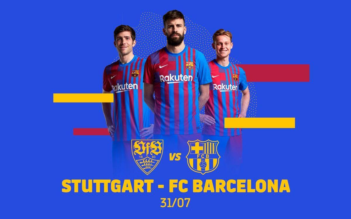 Stuttgart confirmed as third preseason friendly