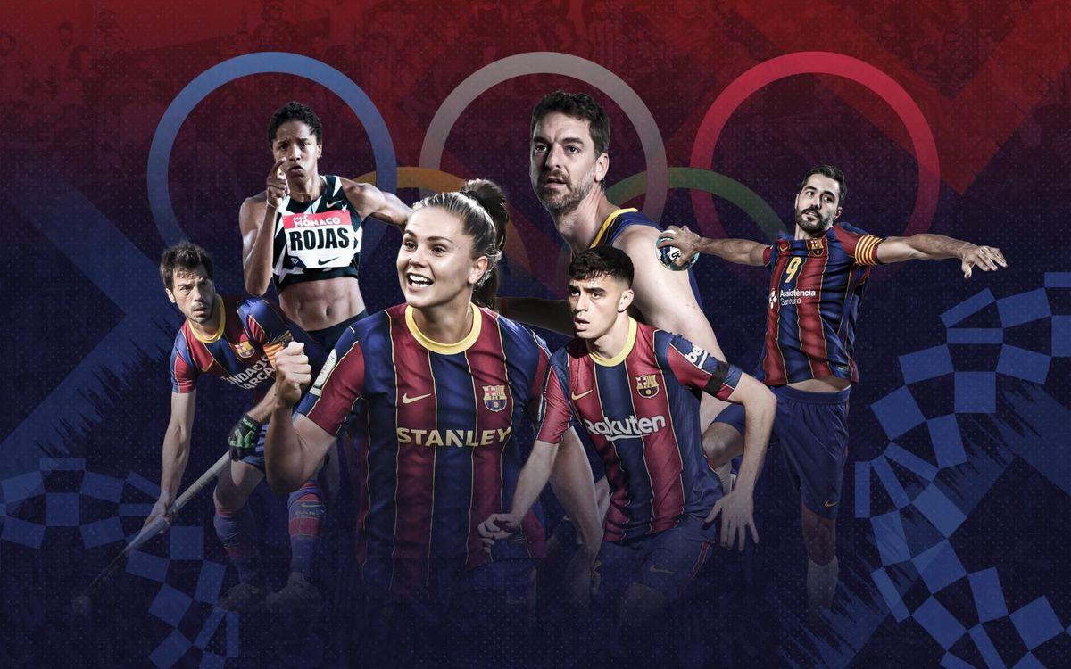 Els esportistes que representaran el FC Barcelona als Jocs Olímpics de Tòquio 2020