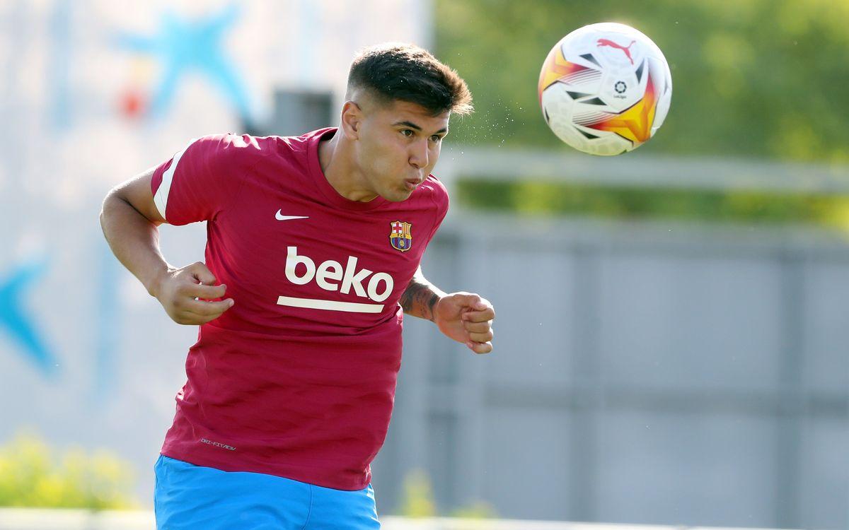 Ramos Mingo back at training
