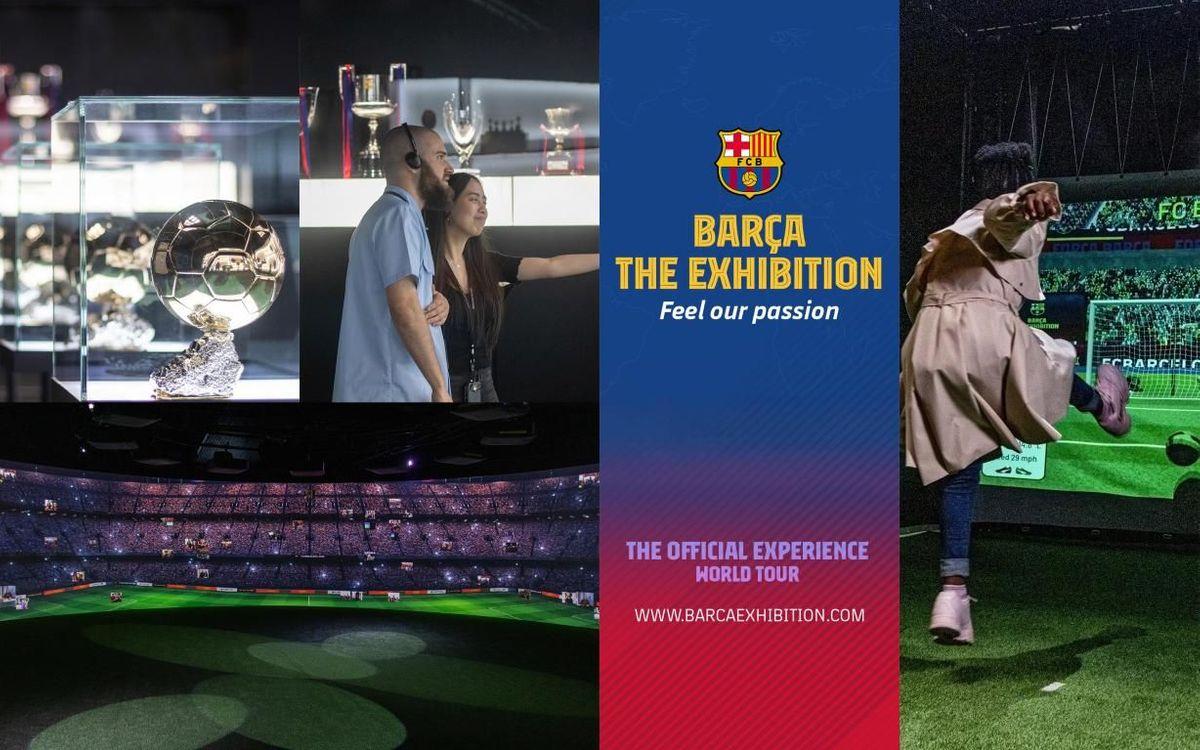 El FC Barcelona viaja a Israel para inaugurar la exposición 'Barça The Exhibition' y jugar con los Legends el Clásico contra el Madrid