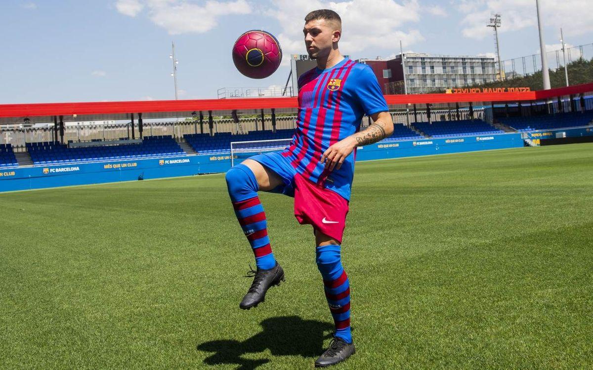 Antonio Aranda, nuevo jugador del Barça B