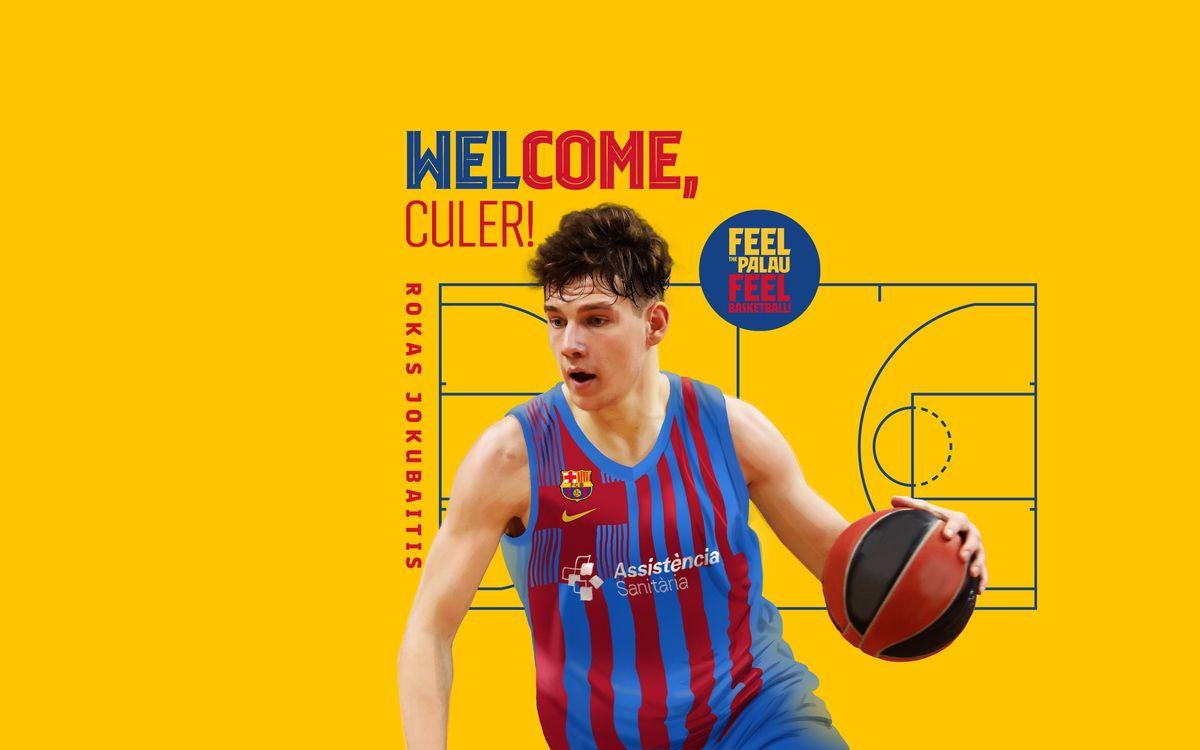 Rokas Jokubaitis, a young jewel for Barça
