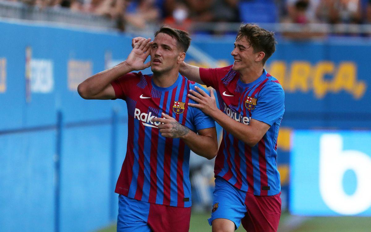 Barça - Nastic : 1er test réussi (4-0)