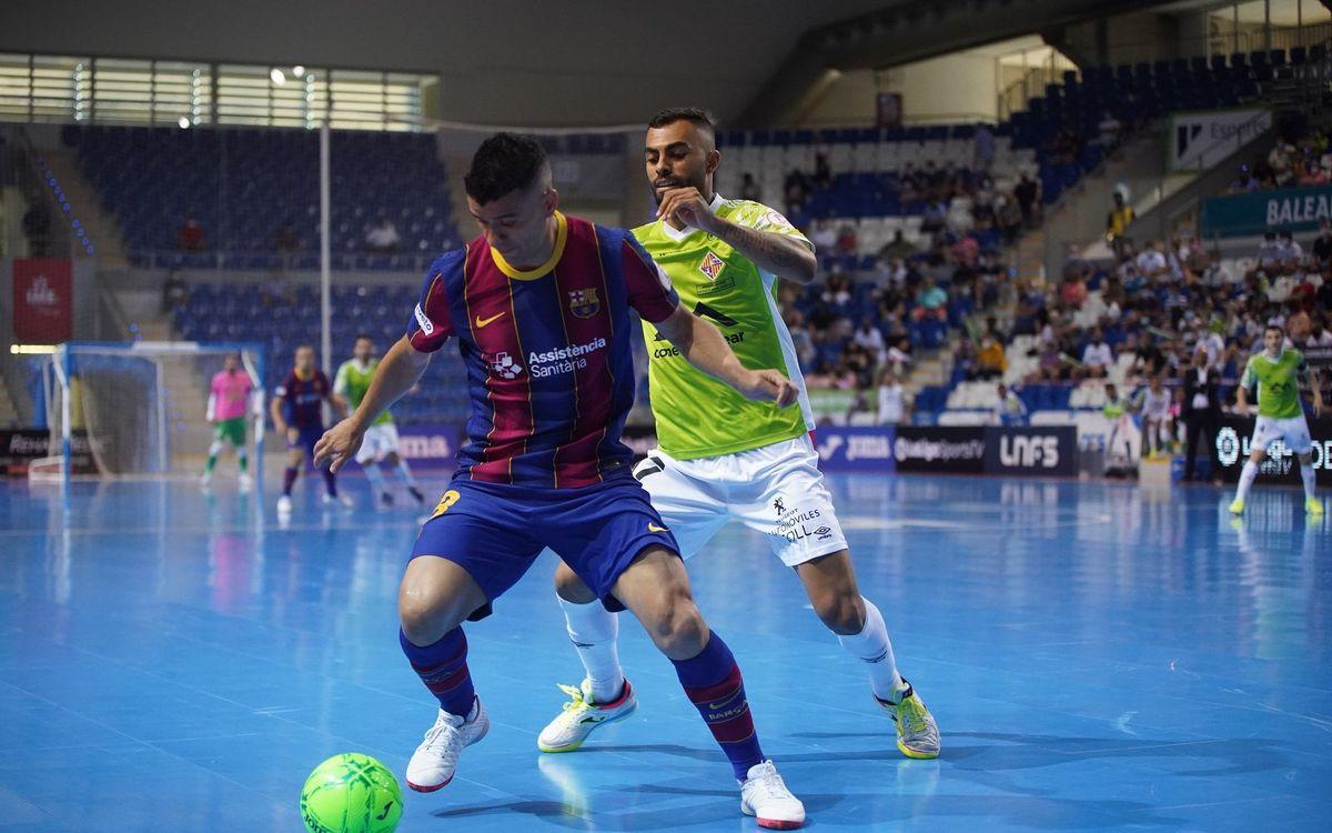 El Barça començarà la lliga a la pista de Palma Futsal