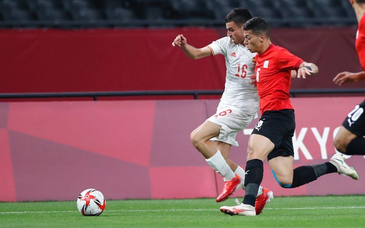 Empat en el debut de la selecció espanyola olímpica