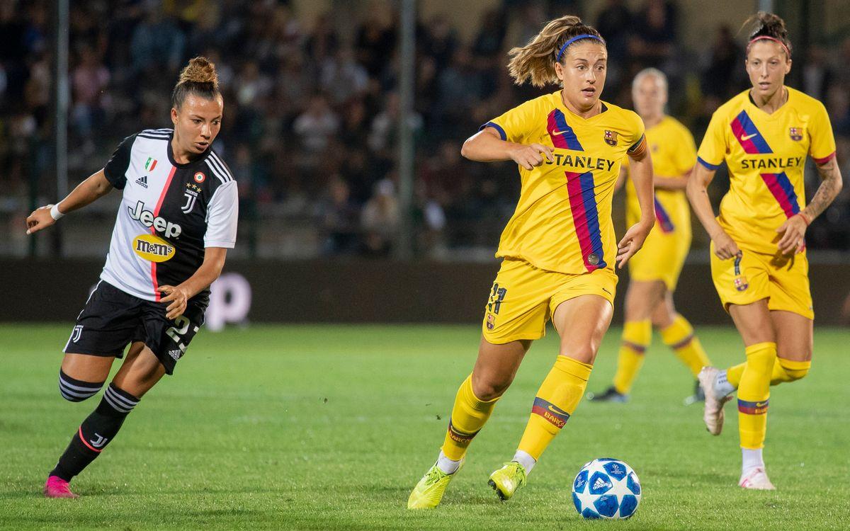 Juventus FC - FC Barcelona femení UWCL