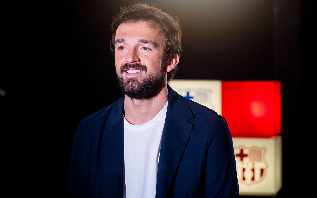 """Sertac Sanli: """"Quan veus l'escut del Barça sents una energia especial dins teu"""""""
