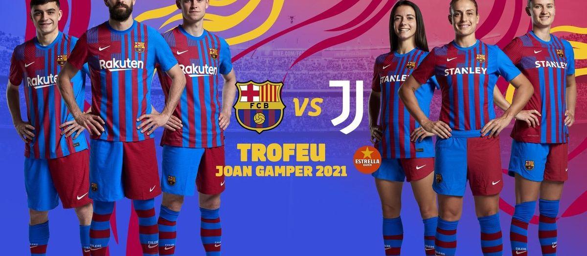 El Trofeu Joan Gamper serà contra la Juventus