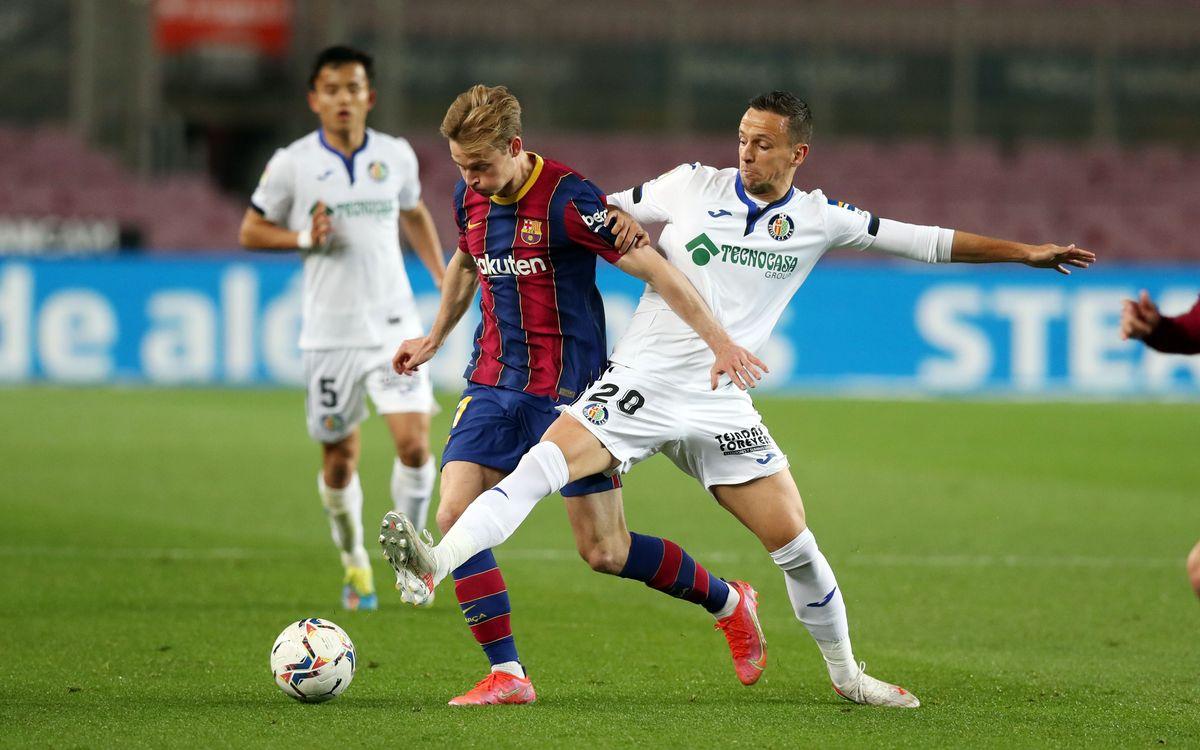 FC Barcelona v Getafe kick off time