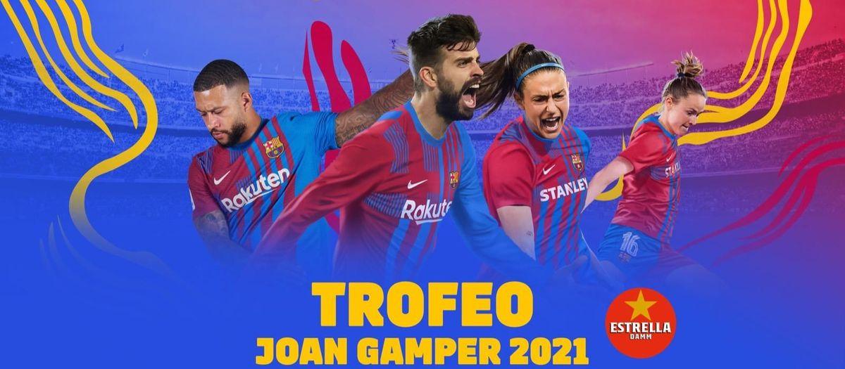 El Trofeo Joan Gamper se jugará con un 20% del aforo del público del Camp Nou