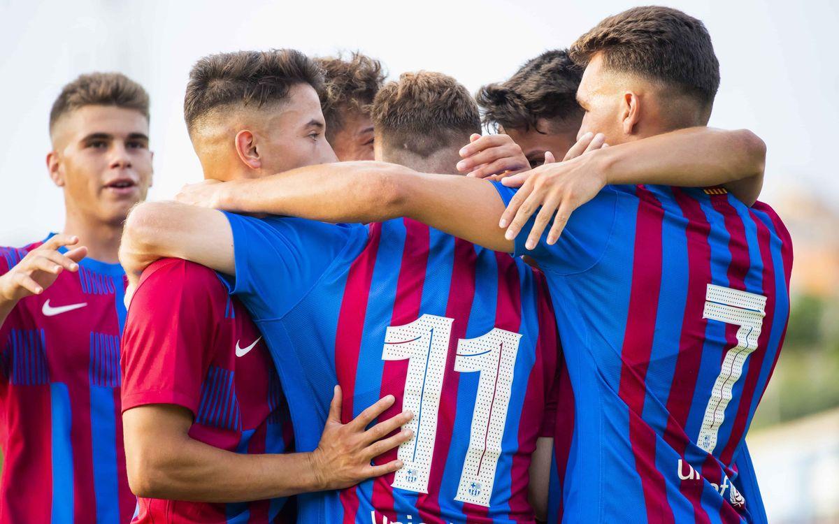 レスカラ - FC バルセロナ B: 新監督の元、期待の生まれる勝利(0-3)