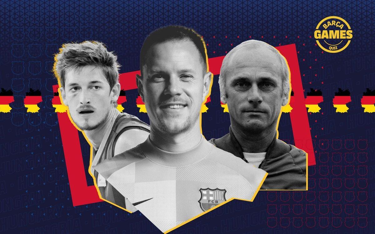 Quiz: Barça & Germany