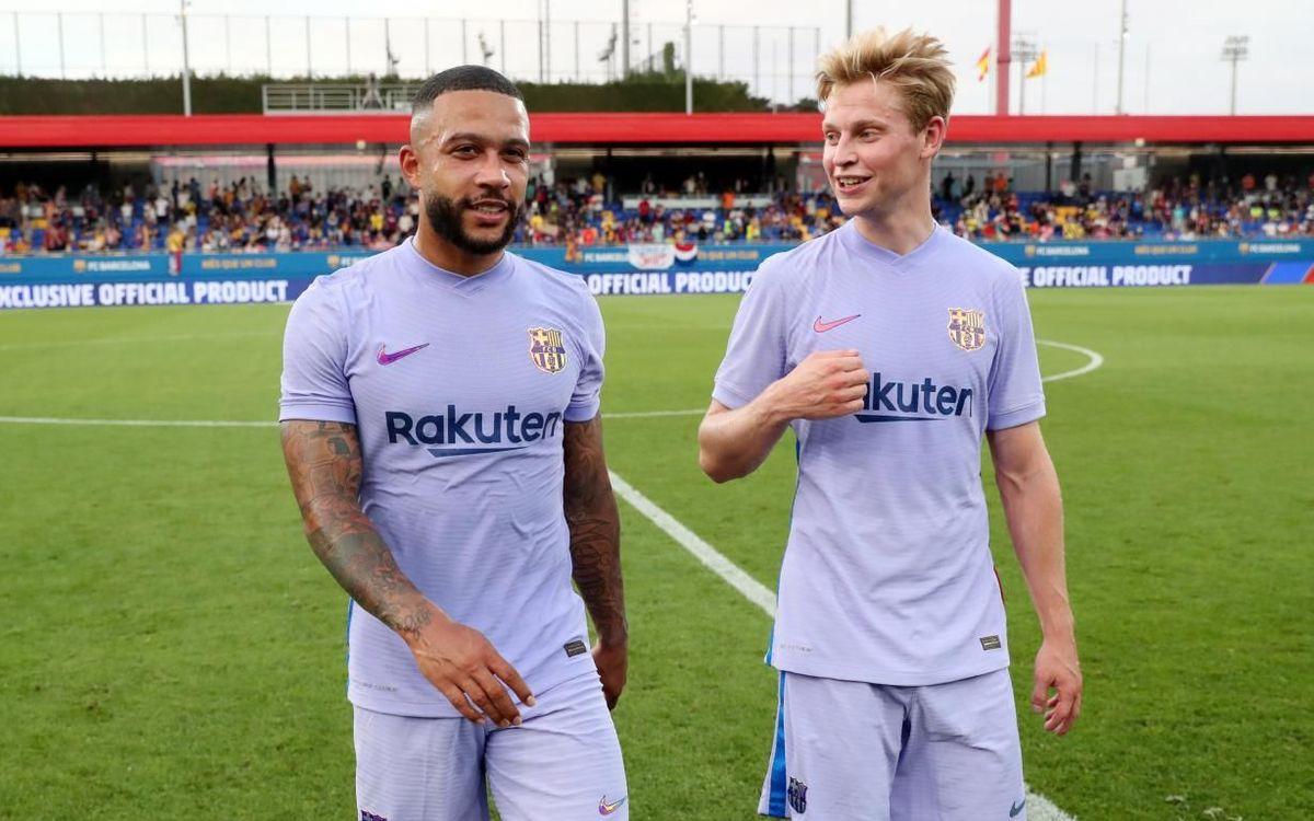 Memphis-De Jong: Dos puntales de los Países Bajos en el Barça