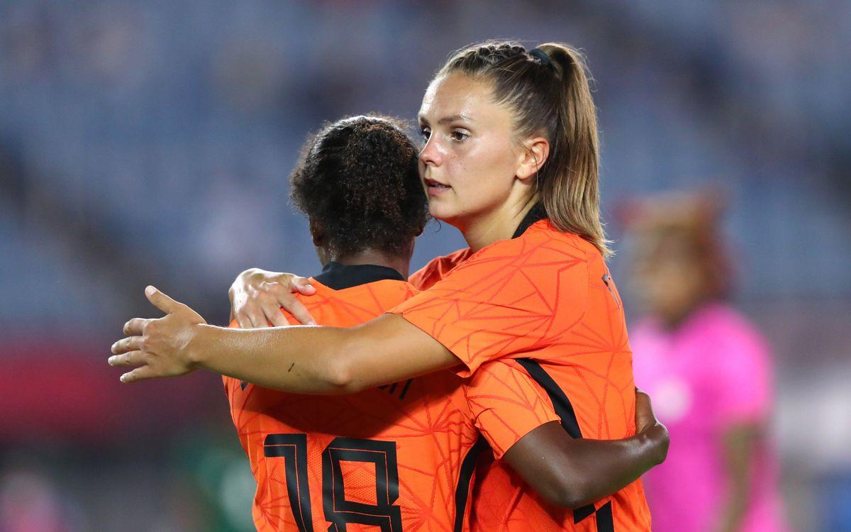 Martens, Rolfö y Gio, clasificadas para los cuartos de final