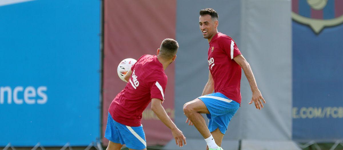 Sergio, Braithwaite and Alba back for Germany trip