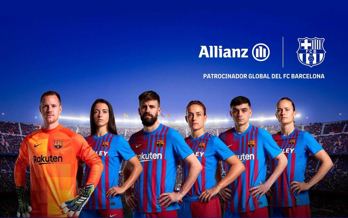 Allianz se convierte en patrocinador global del FC Barcelona y amplía su vinculación con el Club hasta el 2024
