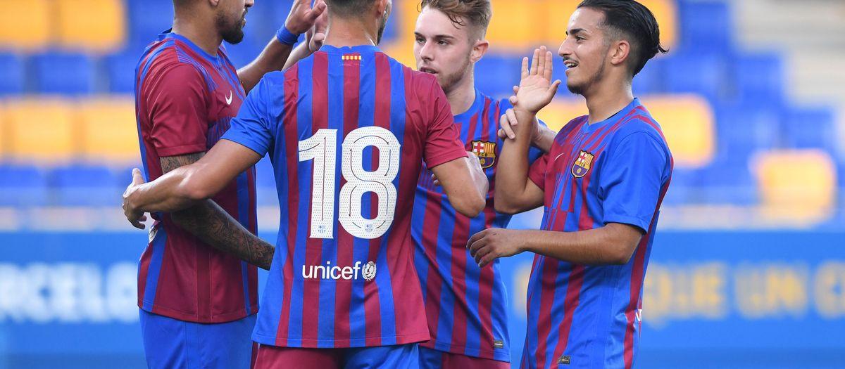 Barça B 6-0 FE Grama: Flood of goals