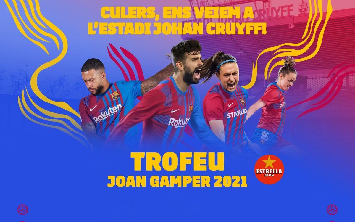 El Barça jugarà el Trofeu Joan Gamper a l'Estadi Johan Cruyff el 8 d'agost