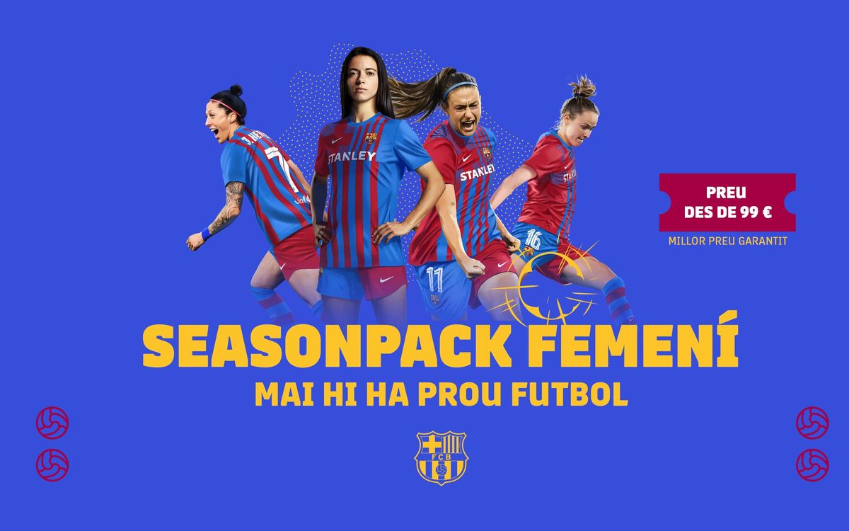 Vols gaudir del Barça Femení a l'Estadi Johan Cruyff?