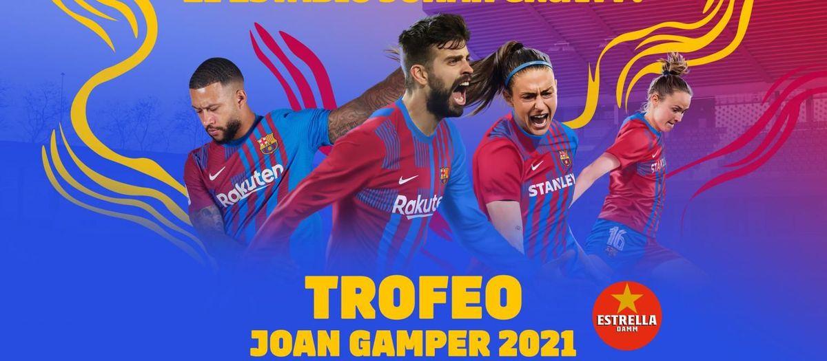 El Barça jugará el Trofeo Joan Gamper en el Estadio Johan Cruyff el 8 de agosto