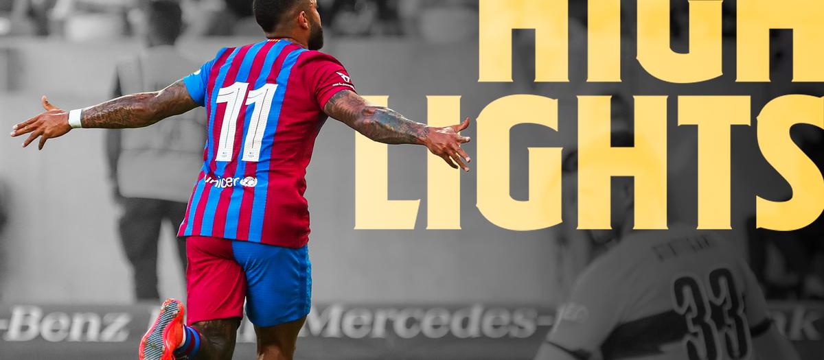 Les moments forts de Stuttgart - Barça (0-3)