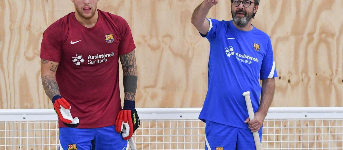 El Barça d'hoquei continuarà la pretemporada a Encamp