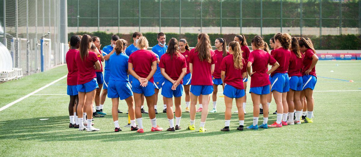 El Barça B se pone en marcha