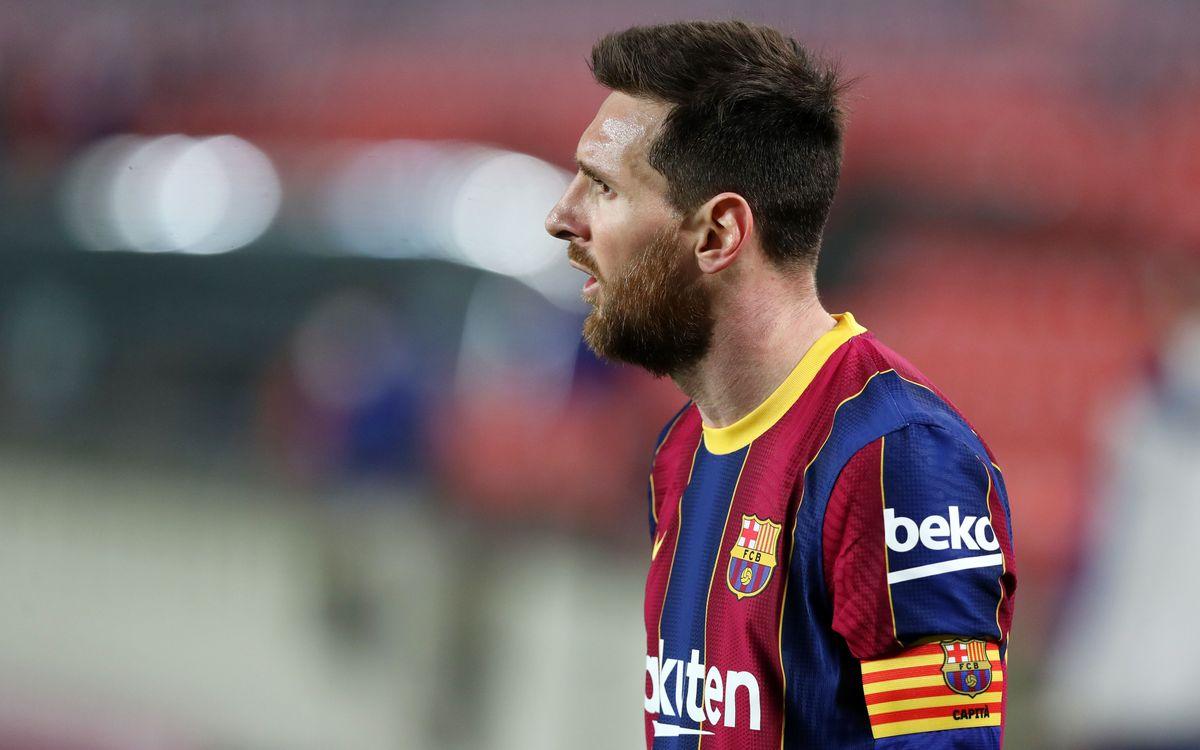 Leo Messi no seguirá ligado al FC Barcelona
