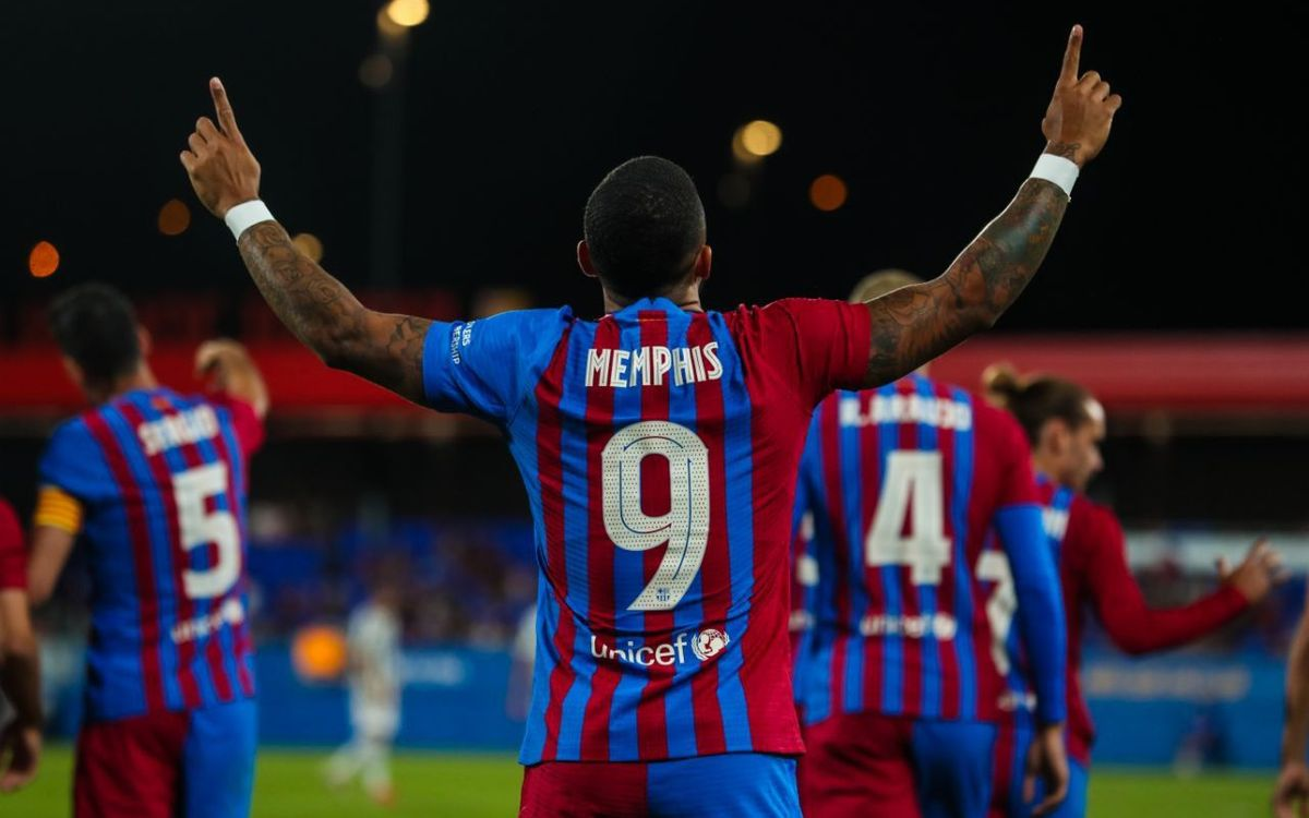 Memphis, Eric Garcia i Rey Manaj, inscrits a la Lliga de Futbol Professional