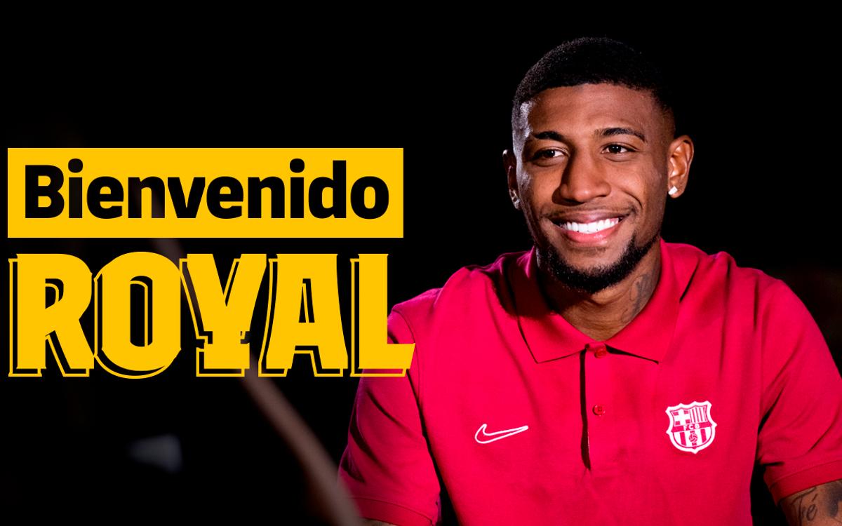 """Royal: """"Quiero triunfar en el Barça"""""""