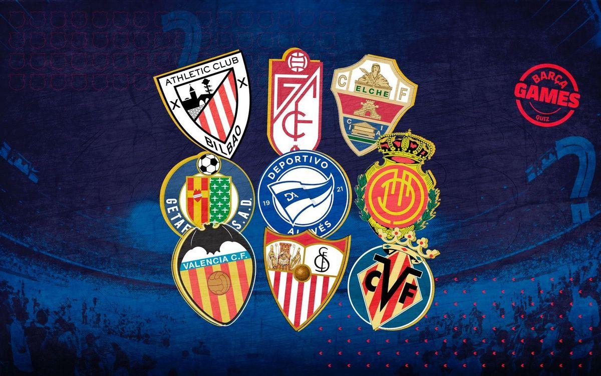 Quiz: La Liga Cities