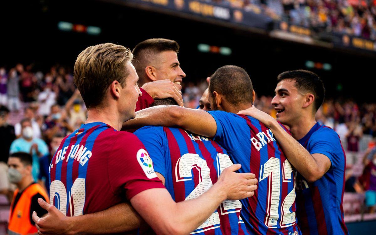 FC Barcelona 4-2 Real Sociedad: Camp Nou celebrates a winning start