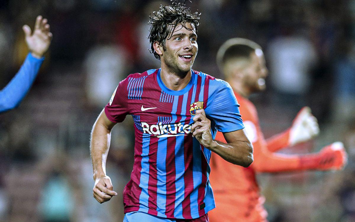 Sergi Roberto | 2021/2022 player page | Midfielder | FC Barcelona Official  website