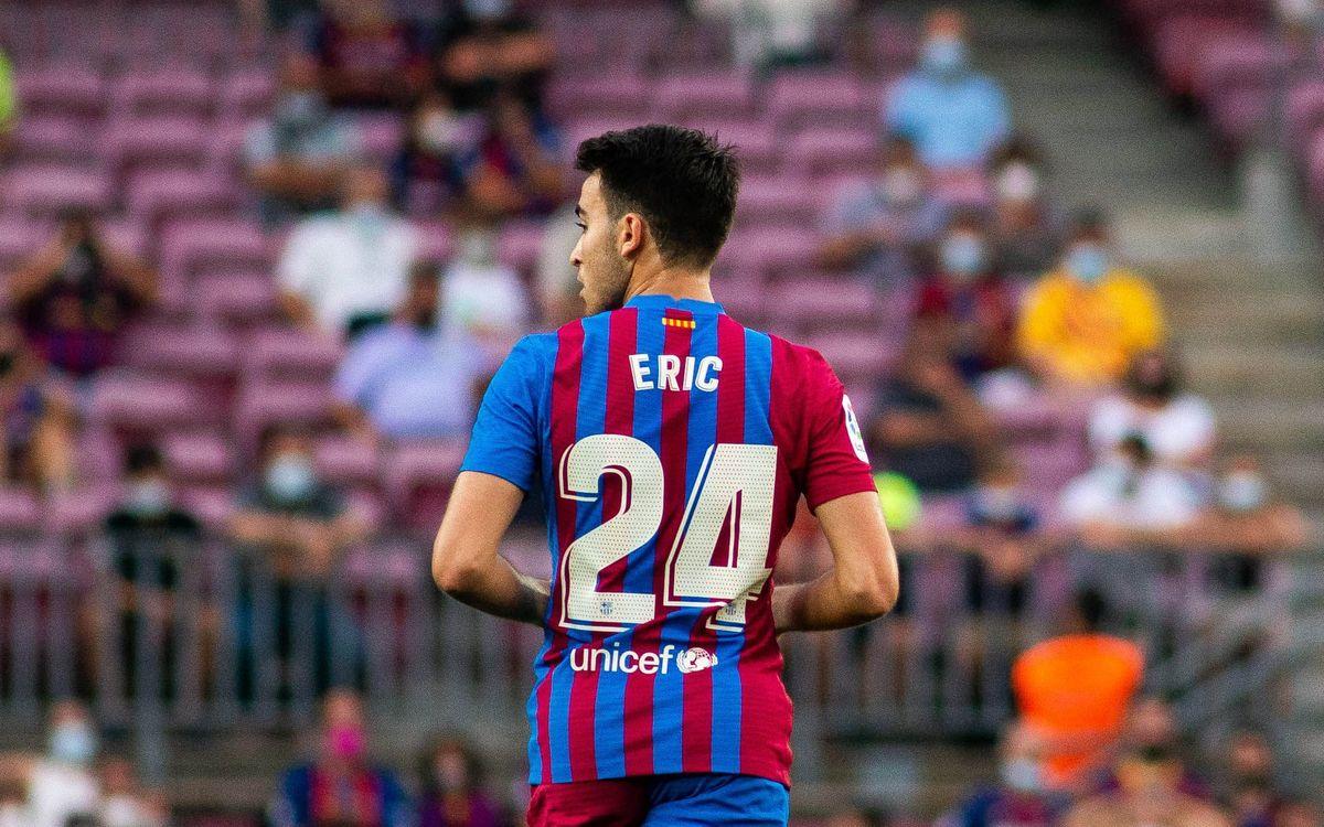 Eric Garcia, un debut per emmarcar