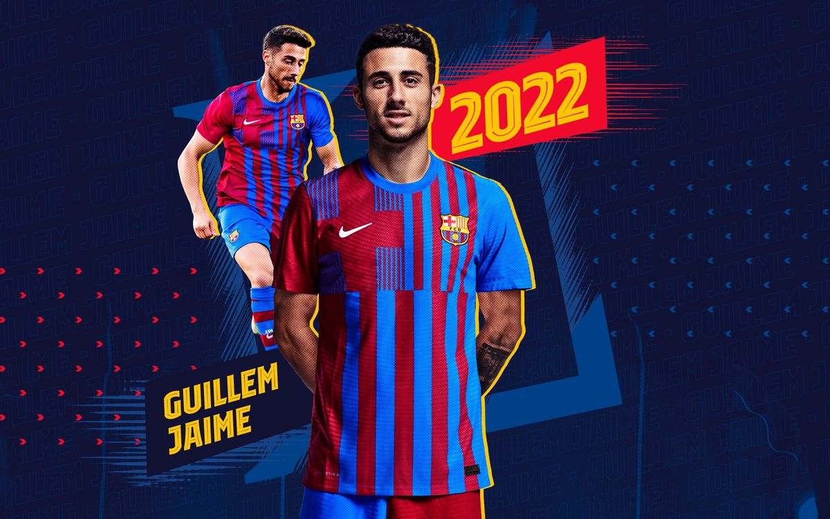 Guillem Jaime joins Barça B