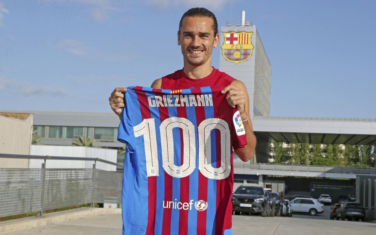 Griezmann 'happy and proud' to reach 100 appearances