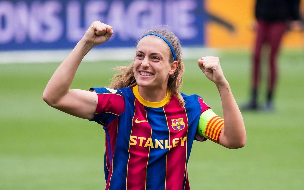 Alexia Putellas guanya el premi de 'Millor Jugadora d'Europa de la UEFA'