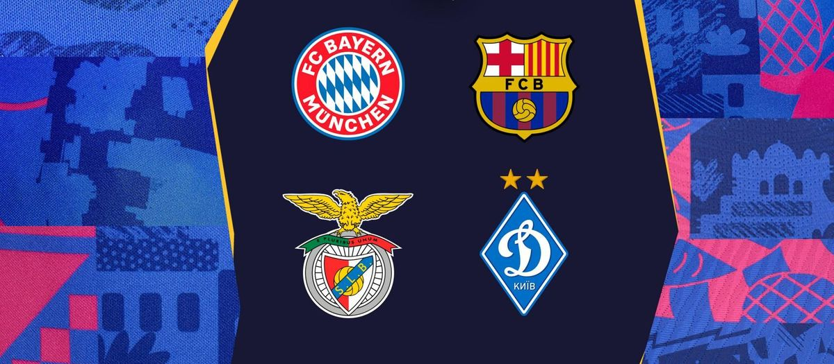FC Barcelona to play Bayern Munich, Benfica and Dynamo Kyiv in 2021/22 Champions League group stage