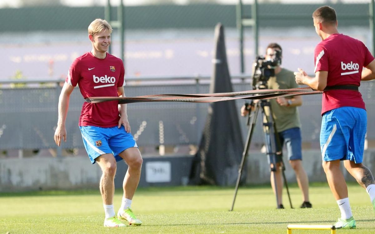 Preparations continue for game against Getafe