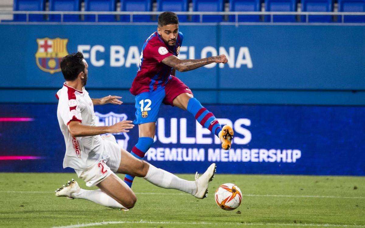 Barça B 1-1 Algeciras: Draw to start the season