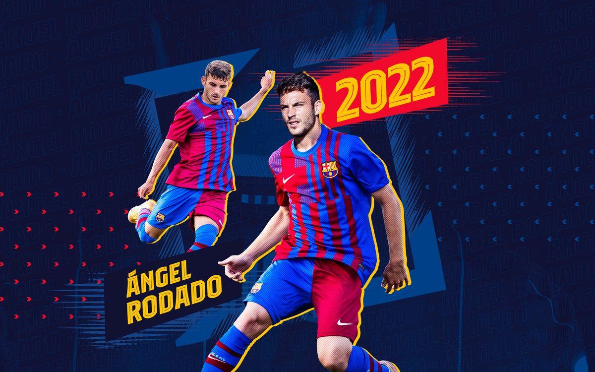 Ángel Rodado, nuevo refuerzo para el Barça B