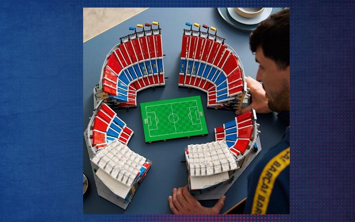 คัมป์นู มีโมเดลเลโก้รุ่นแรก
