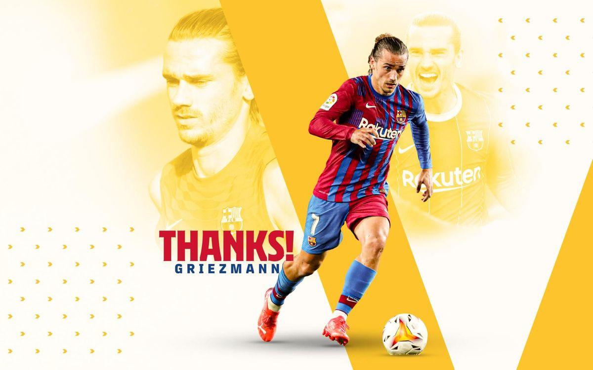 Accord trouvé avec l'Atlético de Madrid pour le prêt de Antoine Griezmann