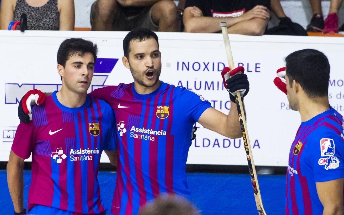 Voltregà Stern Motor  - Barça: Persistència per estrenar el caseller de victòries (2-3)