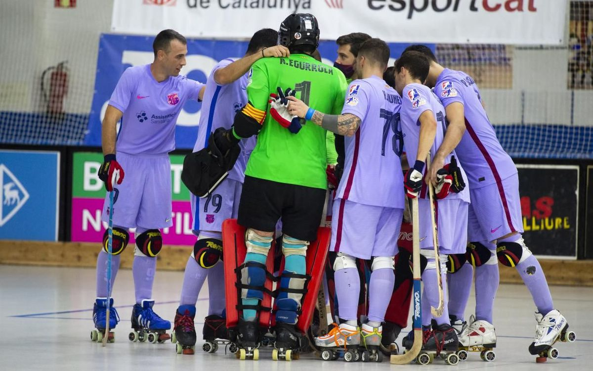 Barça 8-1 CE Noia: Flying into the final